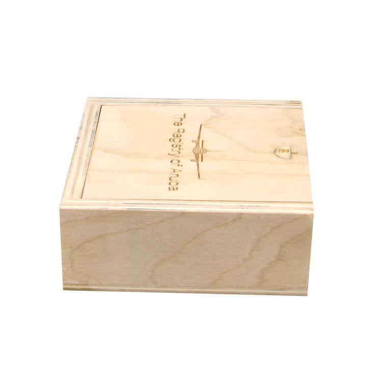 wooden present box
