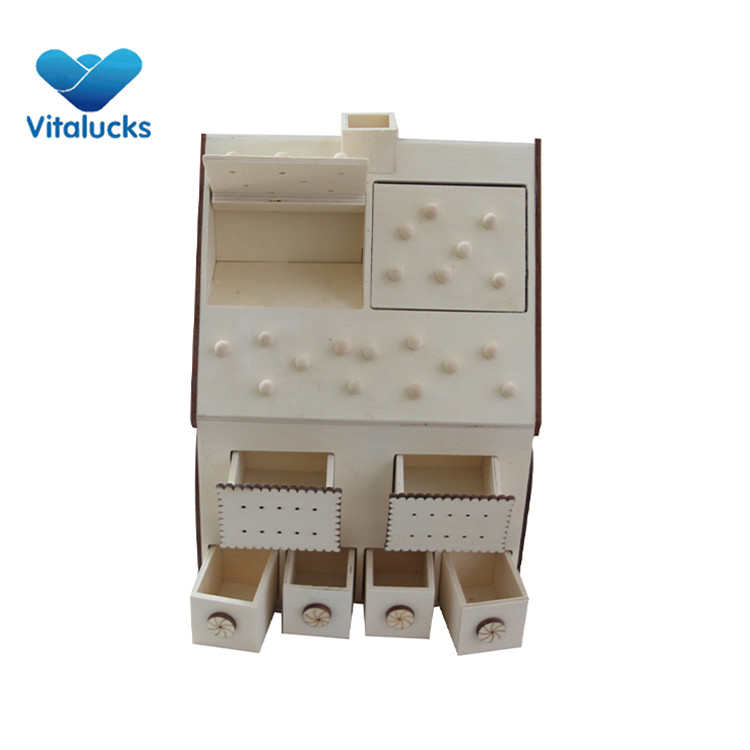 wooden gift box with inner