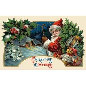 Custom Merry Christmas Gift Festival Polyester Flags