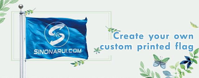 Home Decoration DIGITAL PRINTING FLAG
