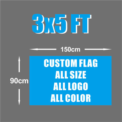 Customized Free Design 48h Fast Delivery 3X5ft Custom flags Banner