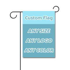 Custom Garden Flag 12 x 18 Inches 110D Polyester Double Sided Flag Without Flagpole