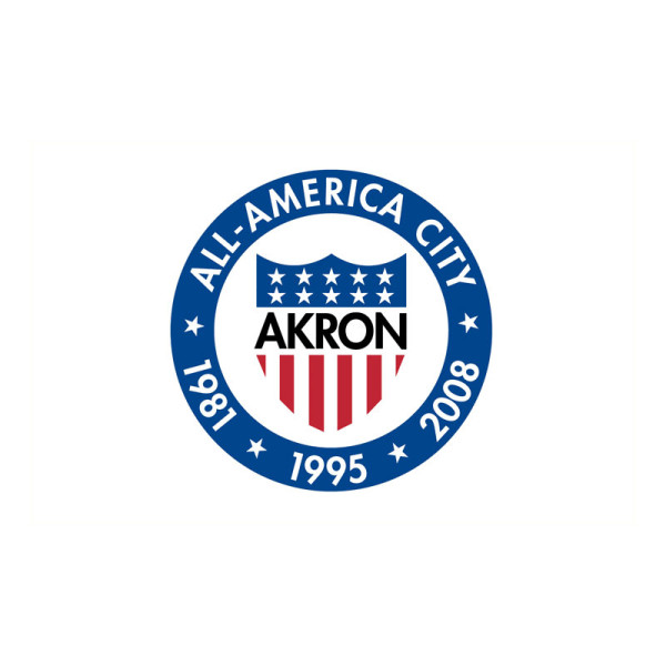 Akron City Flag 3x5ft America national city flags