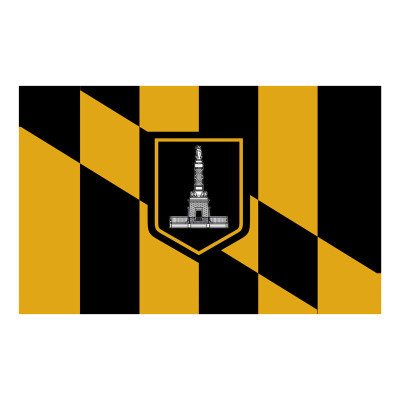 Baltimore City Flag 3x5ft America national city flags
