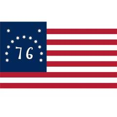 Bennington Flag 3X5ft US historical Retro style flags Banner