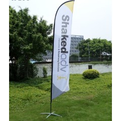Cheap Custom Double Sided Advertising Printing Advertising Feather Flags