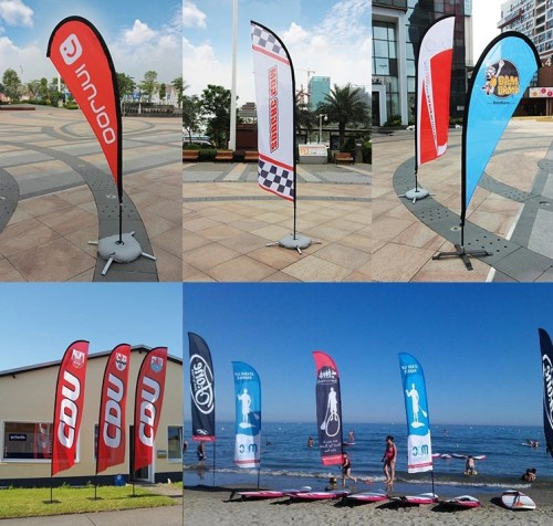 Feather Flag for Promotion Custom Banner