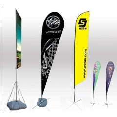 Promotion Feather Flag Flying Custom Advertising Feather Flags
