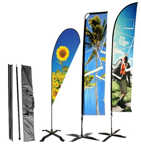 Competitive factory price automatic raise flag pole