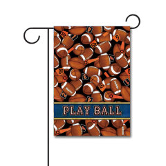 Game Time 110g Knitted Polyester Double Sided Garden Flag Without Flagpole