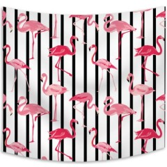 Wholesale Digital Flamingo Custom Print Home Decor Wall Hanging Tapestry for drop shipping