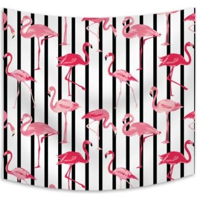 Wholesale Digital Flamingo Custom Print Home Decor Wall Hanging Tapestry
