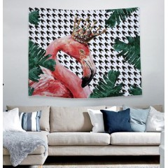 Creative Fashion Tapestry Wall Hanging Flamingo Tapestry for Bedroom