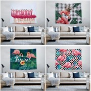 Creative Hot Selling Fashion Tapestries Wall Hanging Flamingo Tapestries for Bedroom