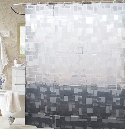 New design wholesale bathroom shower curtain