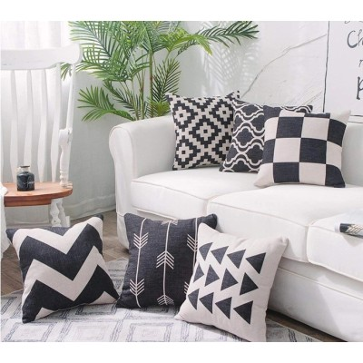 Custom size and design home decor cushion pillow cover