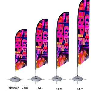 Lower price factory directly automatic raise flag pole with high quality