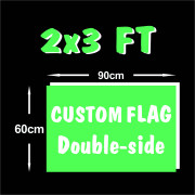 High quality Digital Printing Fast Delivery 2x3ft Custom flags Banner