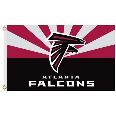 Atlanta Falcons NFL Big Logo Baseball Game Sporting Flags Banners
