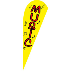 Low Price Hot Selling Custom Pattern Beach Flags Teardrop Flags