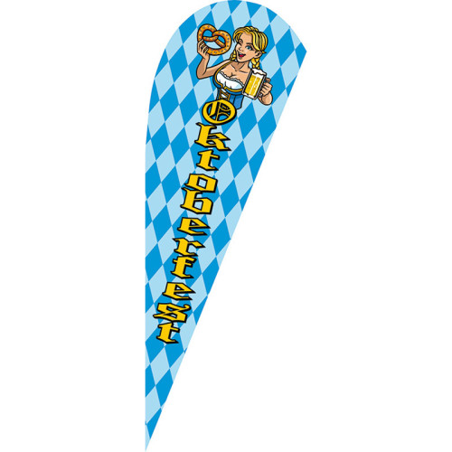 Flags Customized Any Dimension and Pattern Teardrop Flags