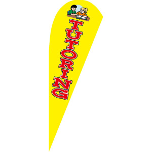 Factory Price Hot Style Custom Any Dimension and Pattern Flying Teardrop Flags