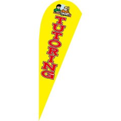 Custom Logo And Size Digital Printing Advertising Teardrop Flags