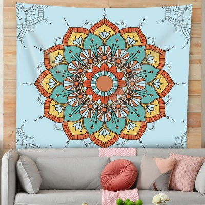 Bohemian Mandala Tapestry Hippie Tapestries Psychedelic Peacock Boho Tapestry Wall Hanging for Bedroom
