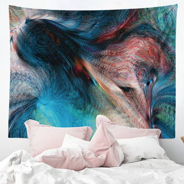 Sinonarui Psychedelic Tapestry,Tapestry Wall Hanging,Trippy Tapestry for Bedroom,Living Room,Dorm,Home Decoration