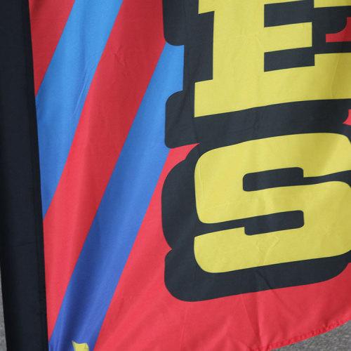 Sinonarui Hair Cuts Low Price Hot Selling Custom Pattern Beach Flags Teardrop Flags