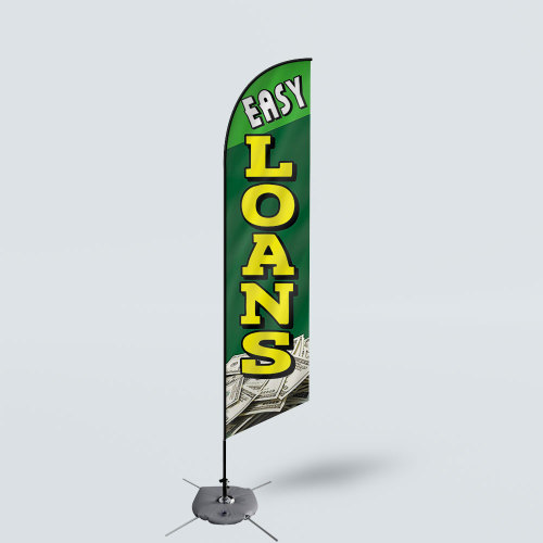 Sinonarui Easy Loans Low Price Hot Selling Custom Pattern Beach Flags Feather Flags