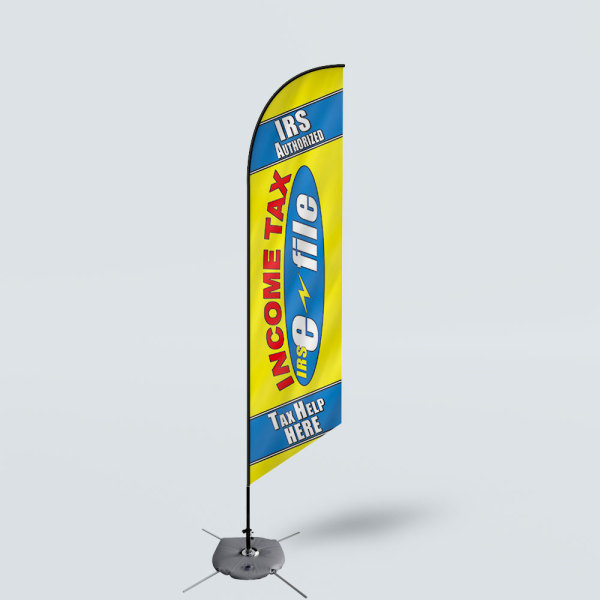 Sinonarui Income Tax Help Here Low Price Hot Selling Custom Pattern Beach Flags Feather Flags