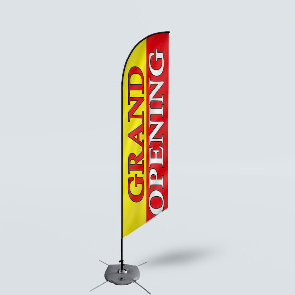 Sinonarui Grand Opening Low Price Hot Selling Custom Pattern Beach Flags Feather Flags