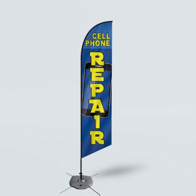 Sinonarui Call Phone Repair Low Price Hot Selling Custom Pattern Beach Flags Feather Flags