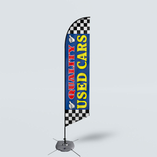 Sinonarui Quality Used Cars Low Price Hot Selling Custom Pattern Beach Flags Feather Flags