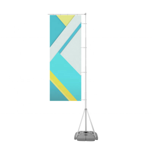 Hot Sale Durable Double Sided Beach Flag Flying Feather Flag Banner