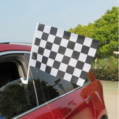With Free Sample Car Flag Customized Printed Car Flag for Wholesale