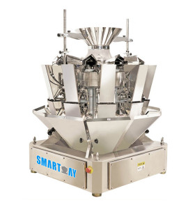 10 Head Automatic Multihead Weigher China Multi Head Scale