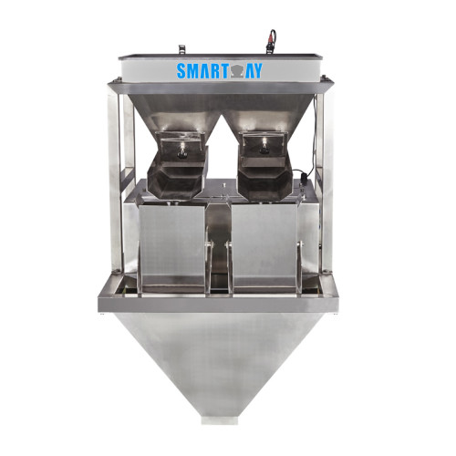 Stainless steel 2 head linear weigher linear weigher machinery SW-LW2 for granule