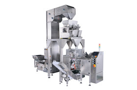linear weigher premade bag packing line