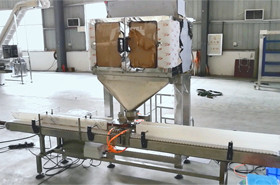 linear weigher filling line