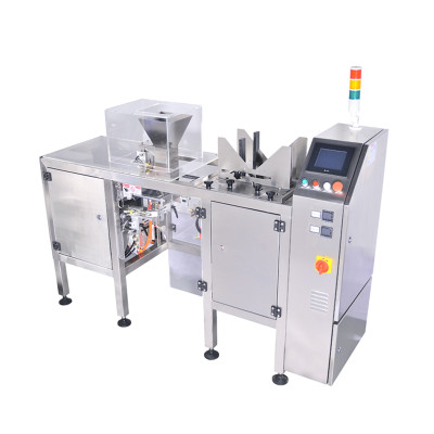 Single Station Premade Bag Packing Machine