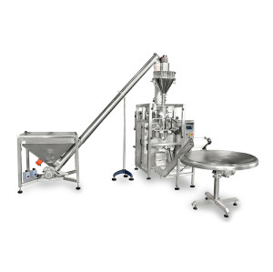 Automatic Auger Filler Wheat Flour Packing Machine Auger Powder Filling Machine
