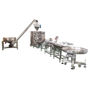 Vertical Powder Coffee Powder Detergent Powder Packing Line Coffee Powder Packing Line