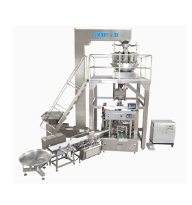 Multihead Weigher Rotary Packing Line Premade Bag Packing Line