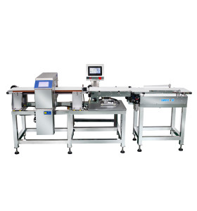 Checkweigher metal detector combination machine weigh checker machine