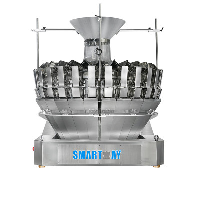 28 Head Multihead Weigher Weighing Scale Grain Weighing Machine