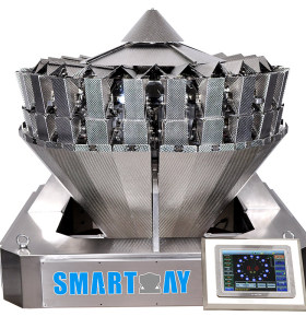 24 Head Multihead Weigher Auto Weighing Scale Weigher