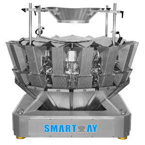 16 Head Multihead Weigher Fast Speed Weighing Scale
