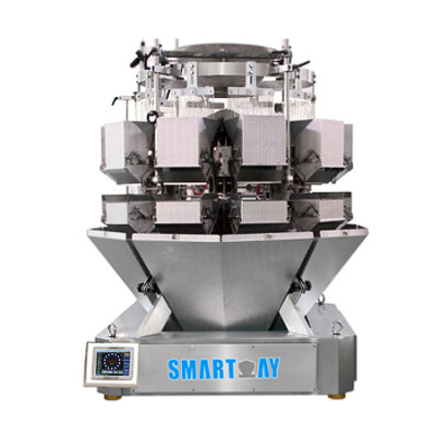 Large 10 Head Salad Multihead Weigher Leaves Packing Machine